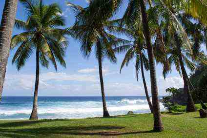 les perturbations géobiologiques n'épargnent nullement les habitations de cette ile paradisiaque